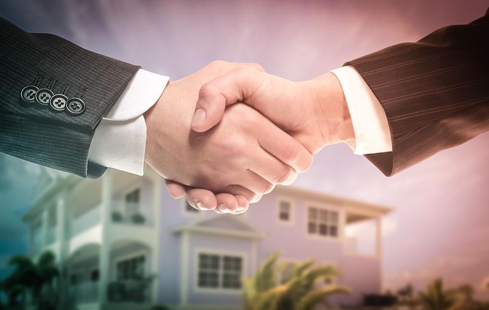 Property Sale Handshake
